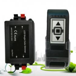 8A 3 Keys LED Strip Light Dimmer Controller With Base For 3528 5050 Single Color Strip