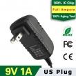 9V1A US Plug Adapter