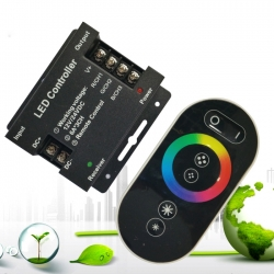 3x6A RF Wireless Touch Remote LED RGB Controller