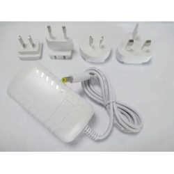 Wall plug adapter with white cover
