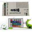 DC12V/24V 3x4A IR Remote RGB LED Lighting Music Controller