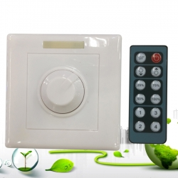 DC12V-24V 8A LED Dimmer with 12 Keys Remote Controller