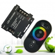 3x6A RF Wireless Touch Remote Control RGB LED controller