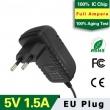 5V1.5A EU Plug Adapter
