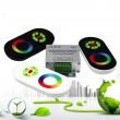 3x4A LED RGB LED Strip Controller With Rainbow Touch Remote