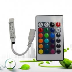 Mini 24 Keys mini LED RGB Controller DC12V 6A