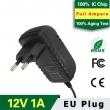 12V1A EU Plug Adapter