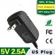 5V2.5A US Plug Adapter